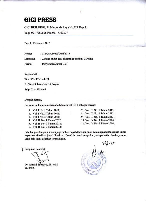 surat tanda terima simpan LIPI_0001